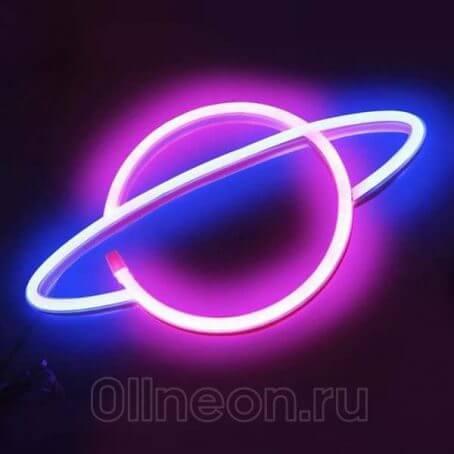 Неоновый светильник Нептун