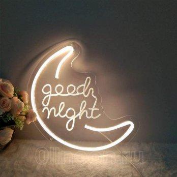Неоновая вывеска Good night